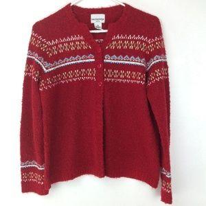 Breckenridge boucle sweater